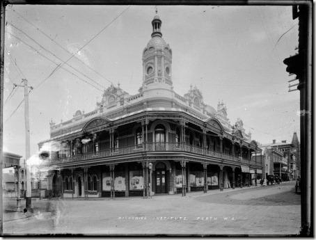 Mechanics Institute - 1900-1910