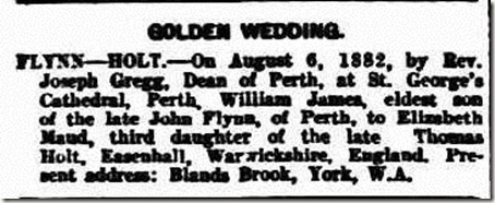 Golden Wedding Notice