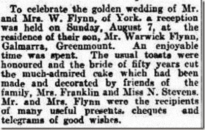 Golden Wedding Social
