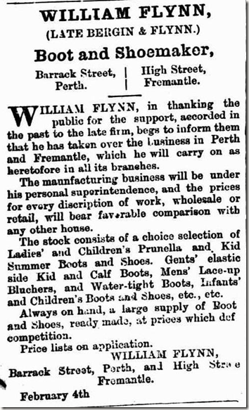 William Flynn Bootmaker