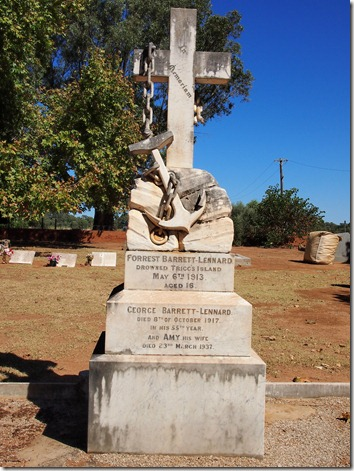 Barrett-Lennard Headstone