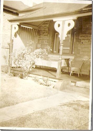 Front verandah of 111 Hay Street, Subiaco