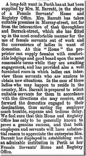 Female Servants Home