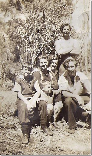 Mary Elizabeth Theakston & Family