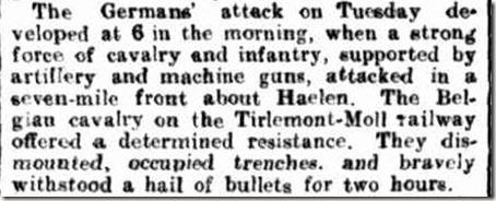 Germans Attack