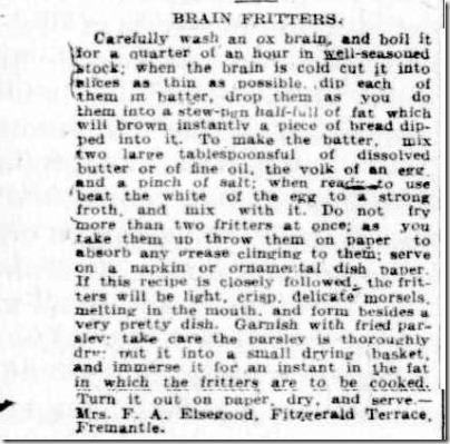 Brain Fritters