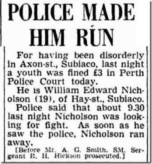 Police Made Him Run