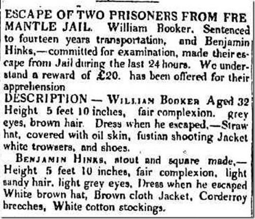 Escape of Two Prisoners