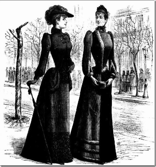 Half Mourning 1890