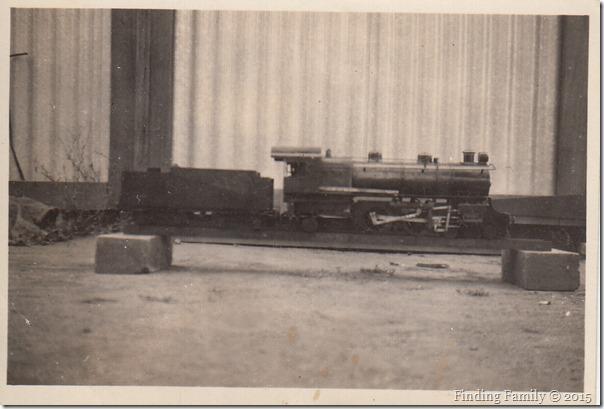 Barratt Charles Victor's model train