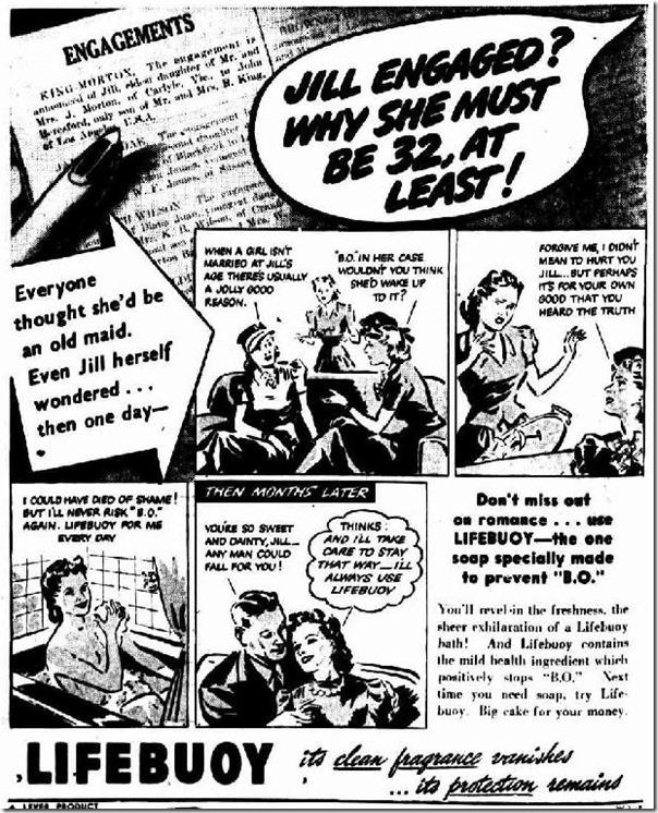 Lifebuoy, Canberra Times, 11 June 1941, Pg 2