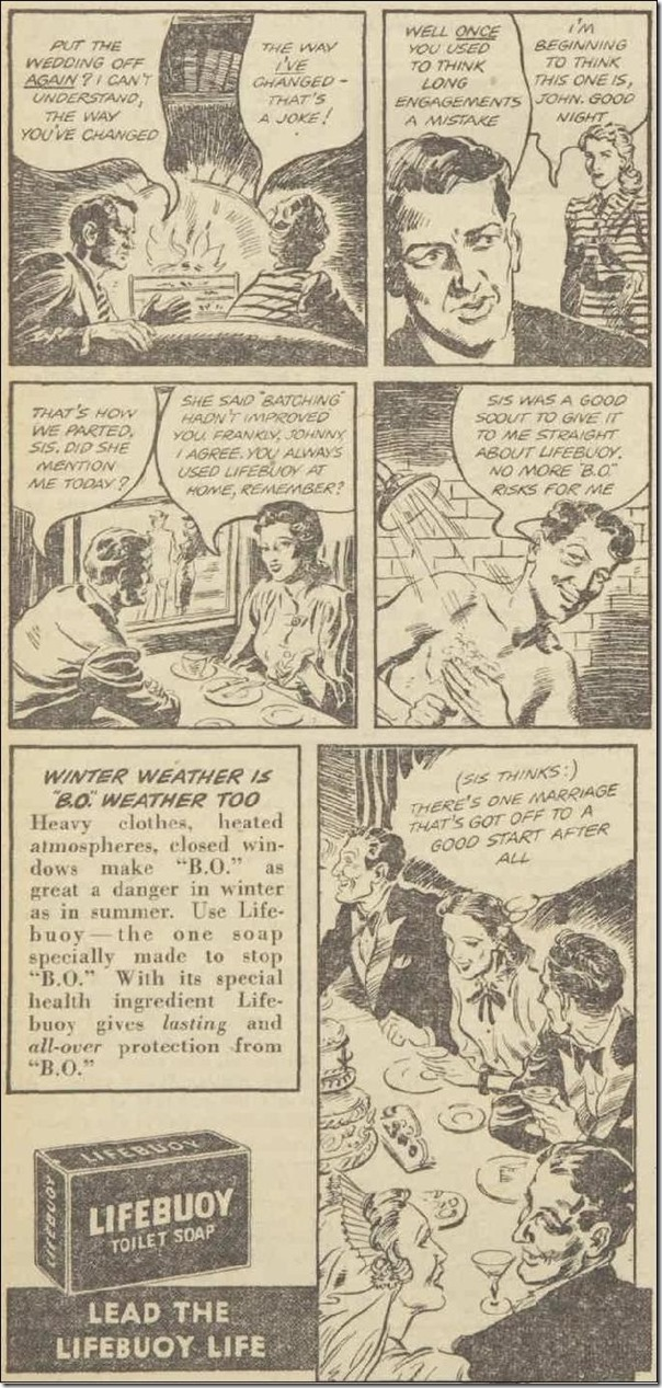 Lifebuoy, Women's Weekly, 26 July 1947, Pg 22