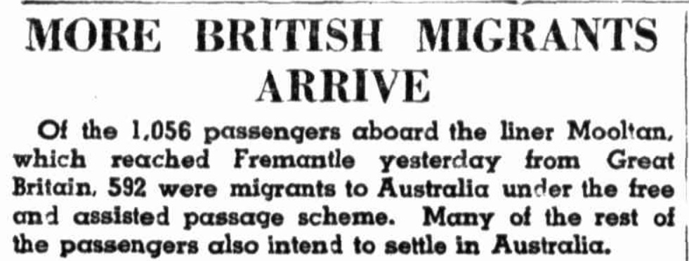 British Migrants