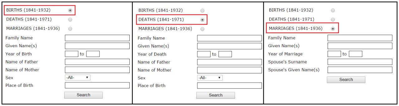 births-deaths-marriages